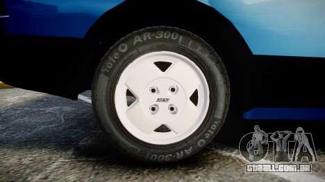Fiat 147 Spazio-TR para GTA 4 vista de volta