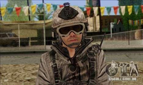 Task Force 141 (CoD: MW 2) Skin 5 para GTA San Andreas terceira tela