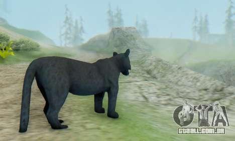 Black Panther (Mammal) para GTA San Andreas segunda tela