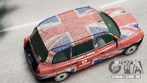 London Taxi Cab v2 para GTA 4 traseira esquerda vista