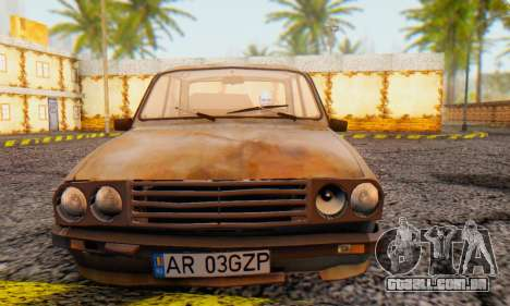 Dacia 1310 MLS Rusty Edition 1988 para GTA San Andreas esquerda vista