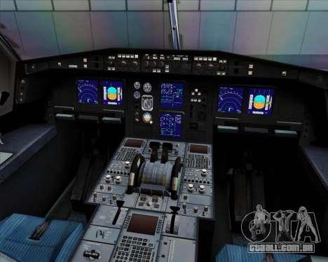 Airbus A330-300 Cebu Pacific Air para GTA San Andreas interior