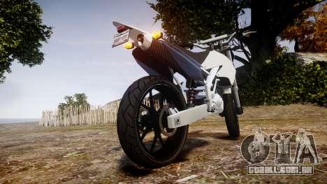 Maibatsu Sanchez para GTA 4 traseira esquerda vista
