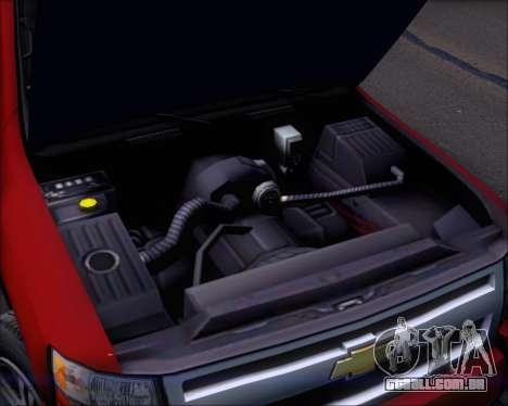 Chevrolet Silverado 2011 para GTA San Andreas vista superior