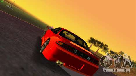 Nissan Silvia S14 RB26DETT Black Revel para GTA Vice City deixou vista