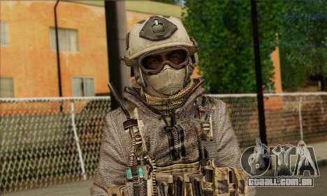 Task Force 141 (CoD: MW 2) Skin 13 para GTA San Andreas terceira tela