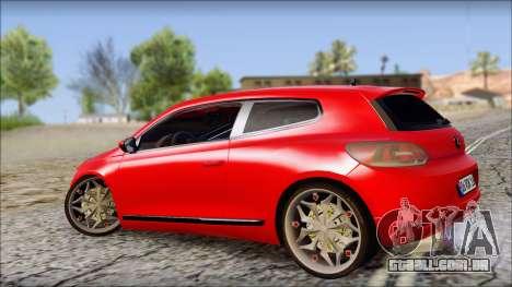 Volkswagen Scirocco Soft Tuning para GTA San Andreas esquerda vista