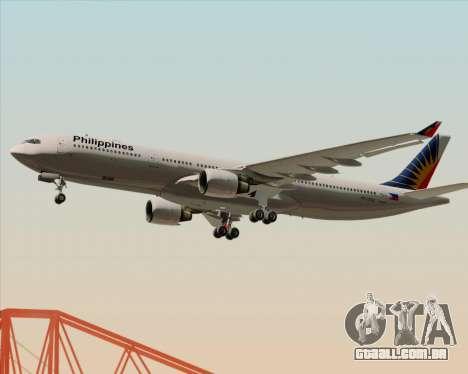 Airbus A330-300 Philippine Airlines para o motor de GTA San Andreas