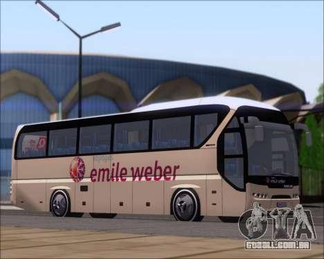 Neoplan Tourliner Emile Weber para GTA San Andreas esquerda vista
