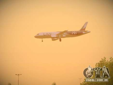 Airbus A320-214 LAN Airlines 80 Years para as rodas de GTA San Andreas
