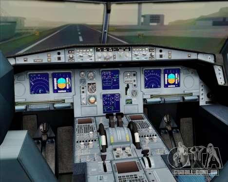 Airbus A330-300 Emirates para GTA San Andreas interior