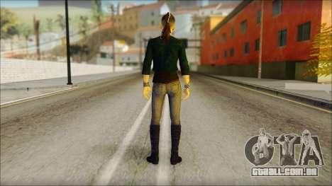 Watch Dogs Clara Lille para GTA San Andreas segunda tela
