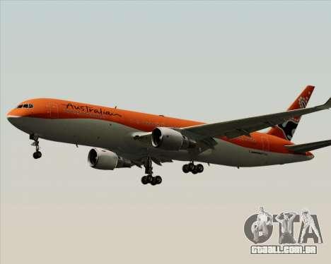 Boeing 767-300ER Australian Airlines para GTA San Andreas vista traseira