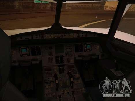 Airbus A320-211 Aigle Azur para as rodas de GTA San Andreas
