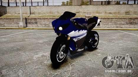 Yamaha YZF-R1 2009 para GTA 4
