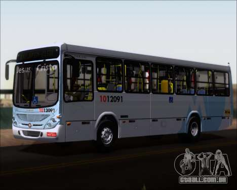 Marcopolo Torino G7 2007 Mercedes-Benz OF-1418 para GTA San Andreas vista superior