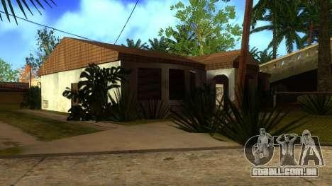 Novas texturas HD casas na grove street v2 para GTA San Andreas décima primeira imagem de tela