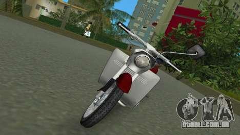 Jawa Type 20 Moped para GTA Vice City deixou vista