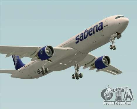 Airbus A330-300 Sabena para o motor de GTA San Andreas