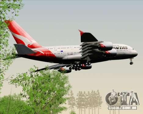 Airbus A380-841 Qantas para GTA San Andreas interior