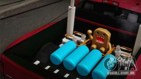 Dodge Ram 3500 para GTA San Andreas traseira esquerda vista