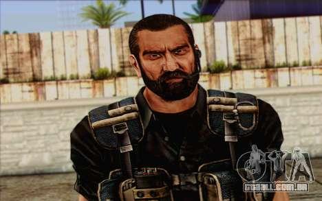 Os soldados de Rogue Warrior 1 para GTA San Andreas terceira tela
