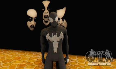 Skin The Amazing Spider Man 2 - Molecula Estable para GTA San Andreas