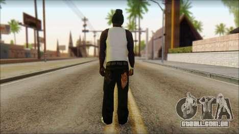 Afro - Seville Playaz Settlement Skin v6 para GTA San Andreas segunda tela