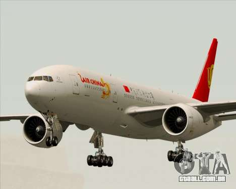 Boeing 777-200ER Air China para GTA San Andreas