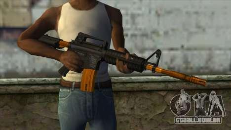 Nitro M4 para GTA San Andreas terceira tela