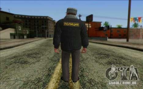 A polícia da Rússia Pele 2 para GTA San Andreas segunda tela