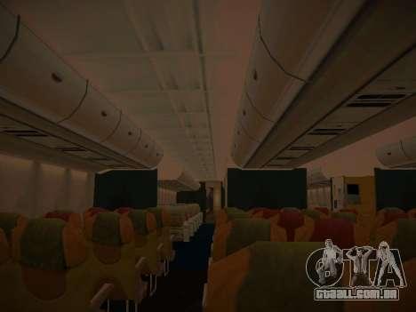 Airbus A380-800 Malaysia Airlines para as rodas de GTA San Andreas