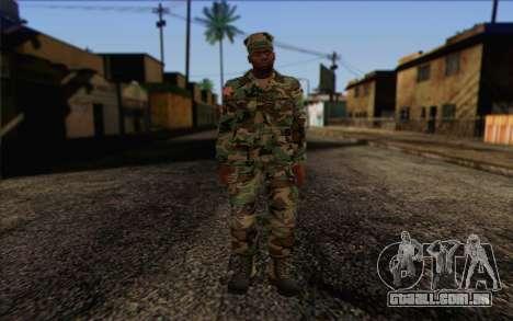 California National Guard Skin 3 para GTA San Andreas