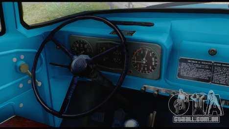 ZIL 130 Formação para GTA San Andreas traseira esquerda vista