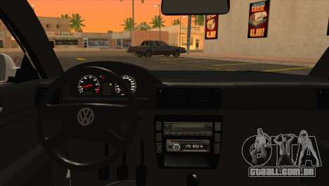 Volkswagen Passat B5 para GTA San Andreas traseira esquerda vista