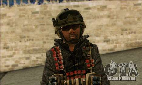 Task Force 141 (CoD: MW 2) Skin 16 para GTA San Andreas terceira tela