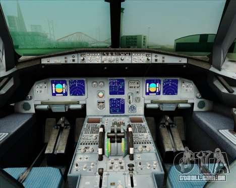 Airbus A321-231 Spanair para GTA San Andreas interior