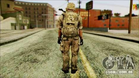 Lutador (PLA) v3 para GTA San Andreas segunda tela