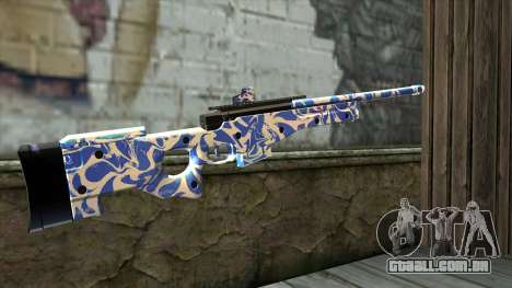 Graffiti Rifle para GTA San Andreas segunda tela