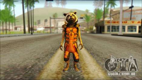 Guardians of the Galaxy Rocket Raccoon v2 para GTA San Andreas