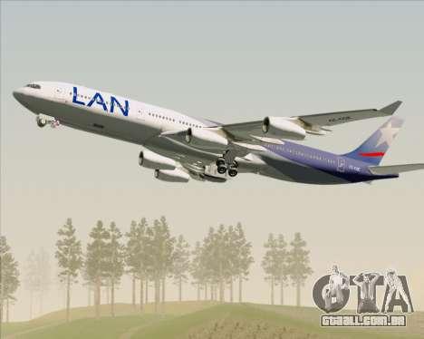 Airbus A340-313 LAN Airlines para o motor de GTA San Andreas