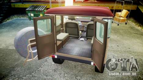 Toyota FJ40 Land Cruiser 1978 v1.7 para GTA 4 vista lateral
