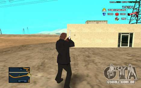 C-HUD by SampHack v.11 para GTA San Andreas terceira tela