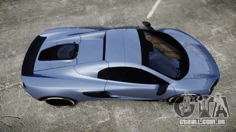 McLaren 650S Spider 2014 [EPM] Michelin v1 para GTA 4 vista direita
