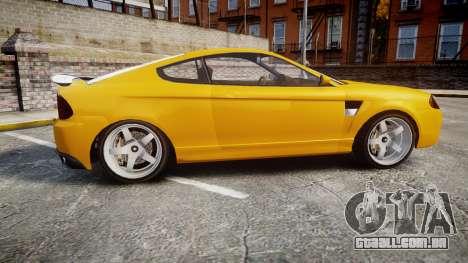 GTA V Bollokan Prairie Wheel1 para GTA 4 esquerda vista