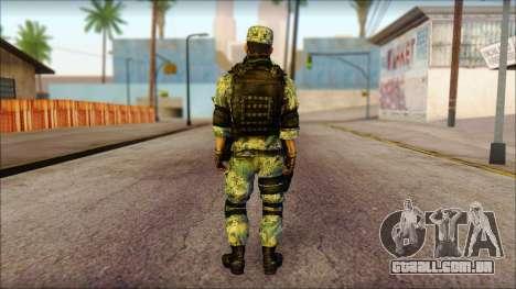 MG from PLA v1 para GTA San Andreas segunda tela