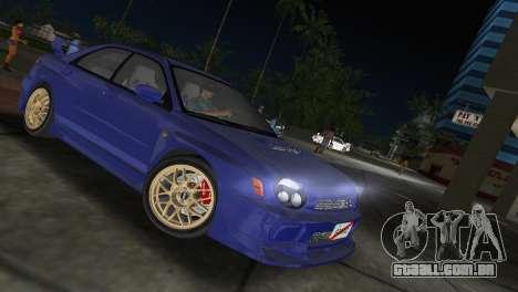 Subaru Impreza WRX 2002 Type 2 para GTA Vice City