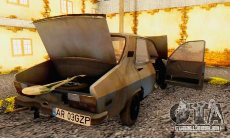 Dacia 1310 MLS Rusty Edition 1988 para vista lateral GTA San Andreas