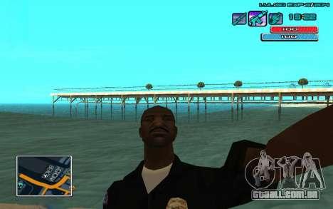 C-HUD por WH editado Mr_Zlo para GTA San Andreas segunda tela