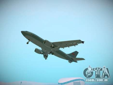 Canadian Forces Airbus CC150 Polaris para GTA San Andreas interior